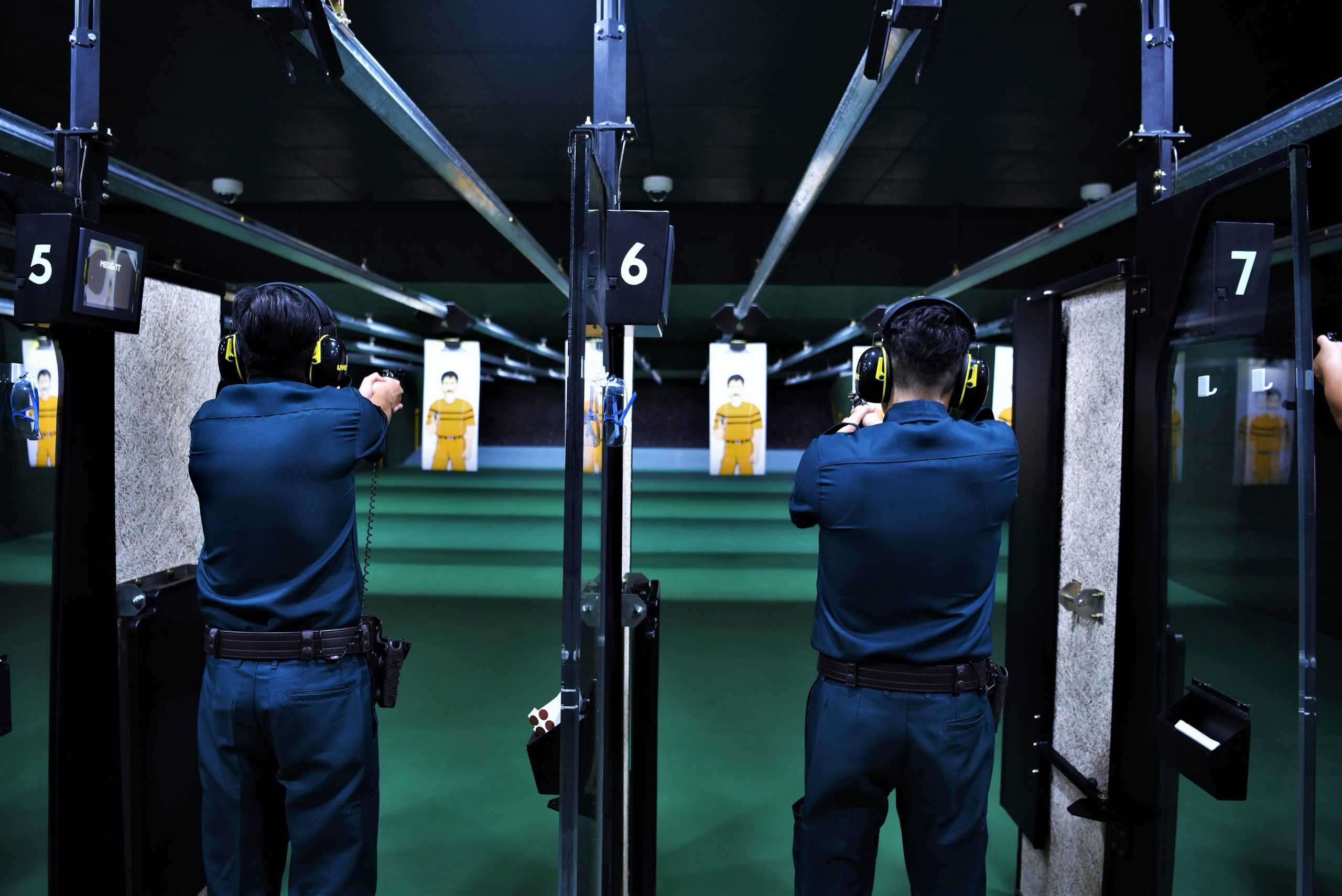 AETOS indoor live firing range