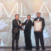 MLAA Receiving award ceremony