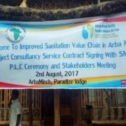SMECs sanitation project will improve health and living conditions in Arba Minch