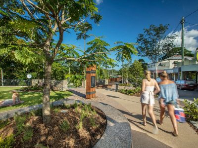 i3 2018 queensland town square redevelopment wins AILA Civic Landscapes award