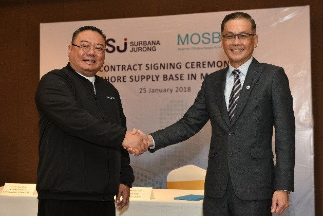 MOSB signing with SJ Myanmar