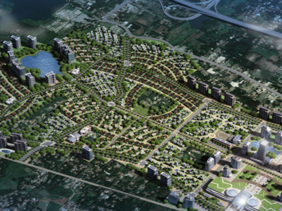 Artist's impression of the TOD which Sinar Mas Land Mitbana will co develop final