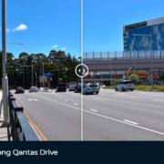 ScreenCapture Flyover along Qantas Drive
