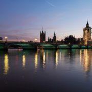 Westminster Bridge Illuminated River © James Newton