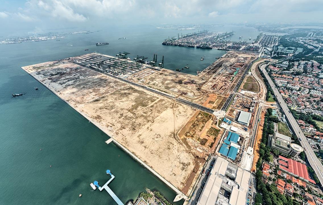 Pasir Panjang Terminal Phase 3 & 4