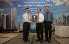 Speech by SJ & CAG's Chairman, Mr Liew Mun Leong at Professional Engineers Board Day of Dedication