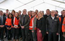 Australian Prime Minister Malcolm Turnbull visits SMEC Cooma office
