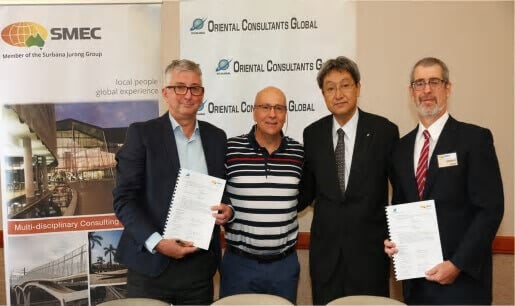 SMEC signs MoU with OGC to extend partnership into South America