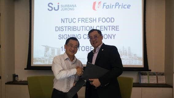 NTUC food distribution centre