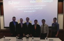 Yale-NUS College and Surbana Jurong team up to test-bed next generation of smart city solutions