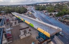 Surbana Jurong pulls off civil engineering achievement with move of Darlington bridge in Australia