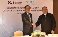 Surbana Jurong to work with MOSB to develop an offshore supply base in Mon State, Myanmar