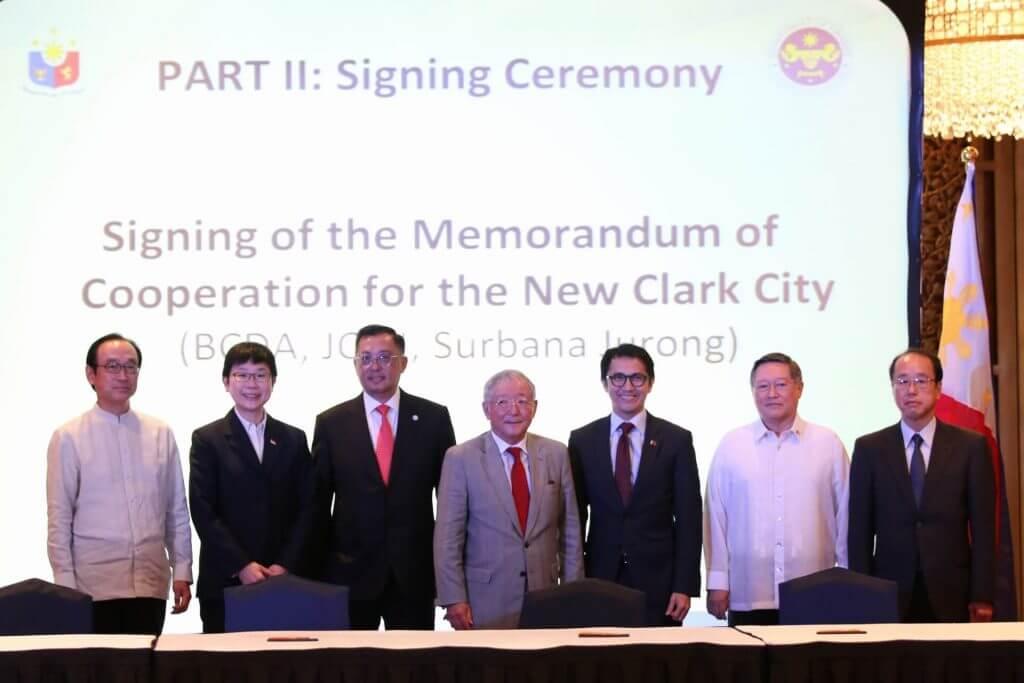 MOC for development of New Clark City masterplan