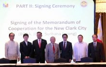 BCDA and Japan ink partnership with Surbana Jurong of Singapore for full development of New Clark City