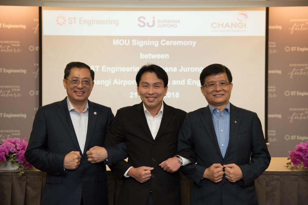 st engineering Surbana Jurong CAPE consortium overseas airport development projects aviation