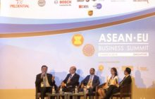 Sharing insights on sustainable development in 6th ASEAN-EU Business Summit