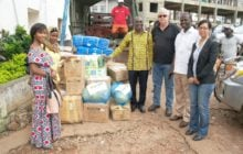 Provision of safety equipment for disaster relief after Sierra Leone floods