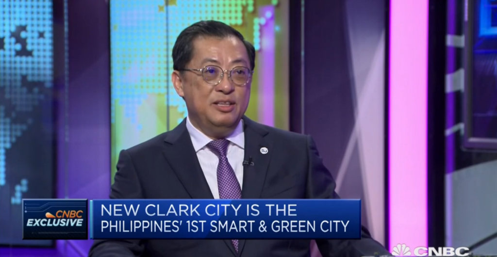 New Clark City Philippines smart city
