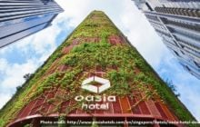 Oasia Hotel Downtown Singapore named Best Tall Building Worldwide