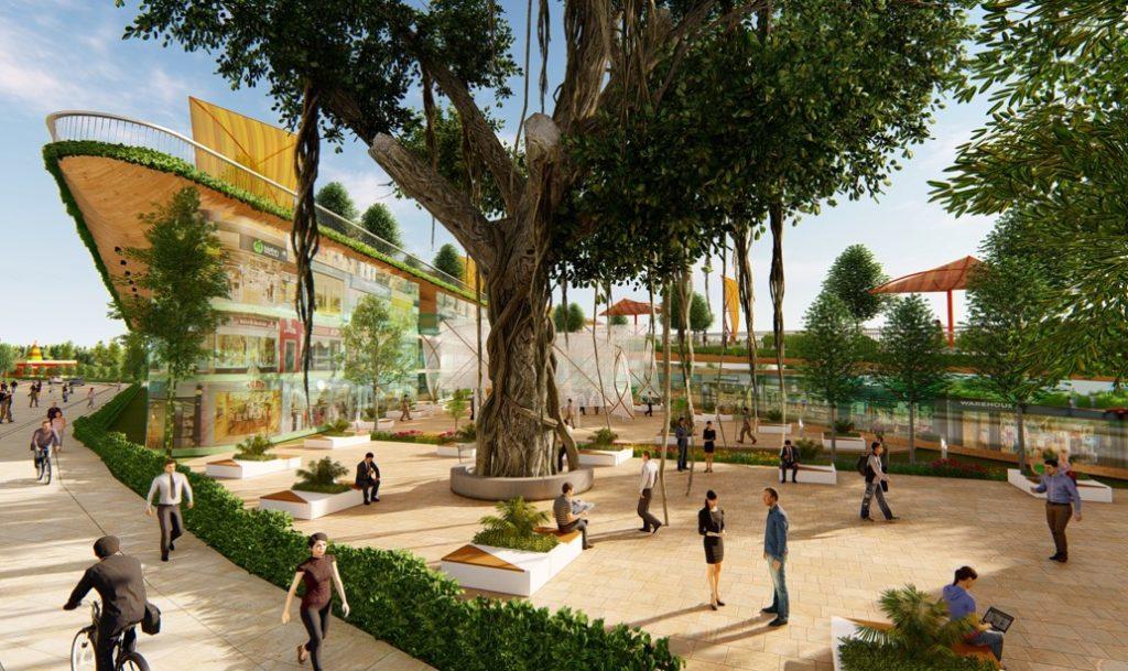 Pimpri Chinchwad Smart City India concept view