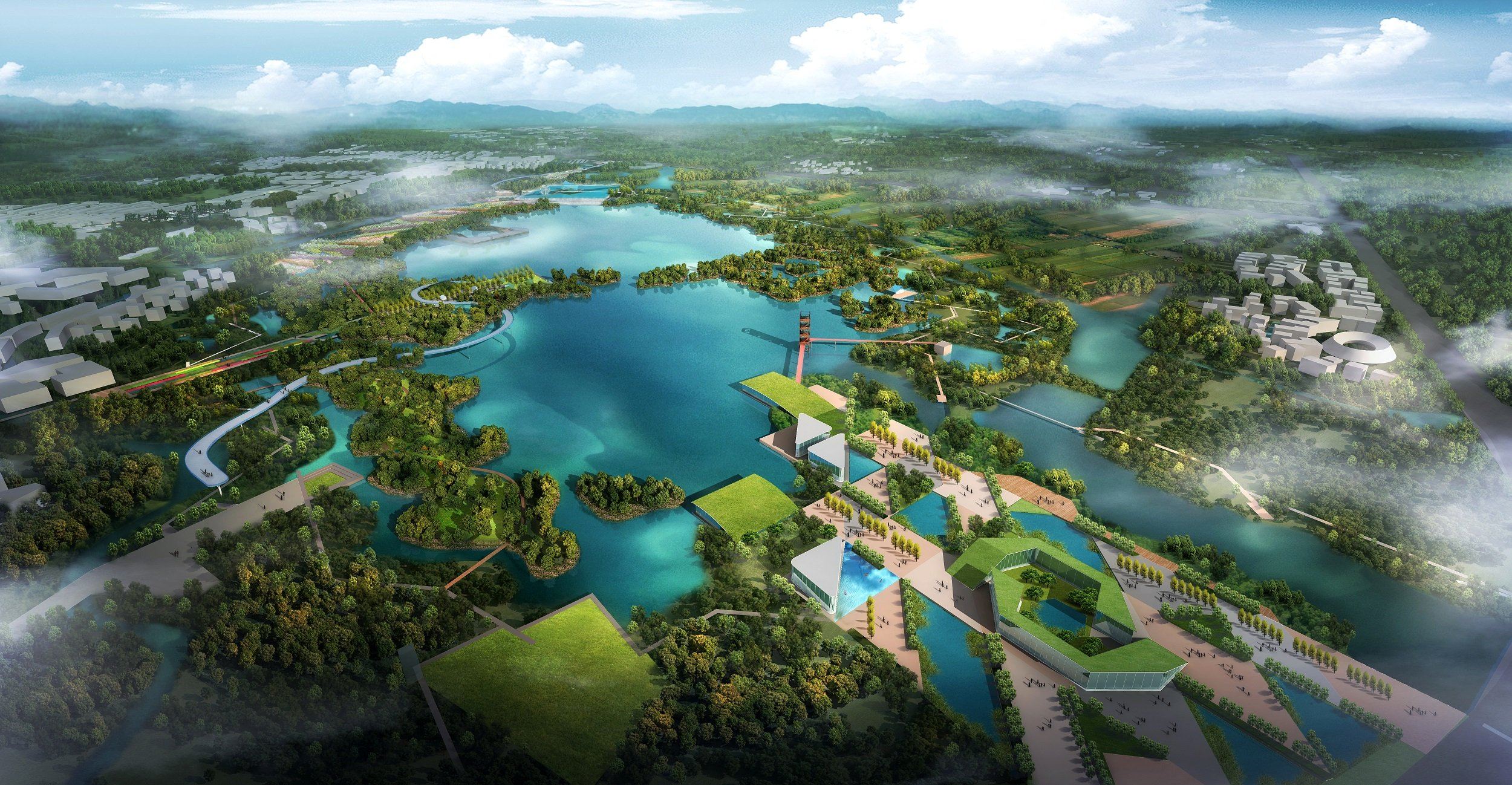 Integrated Landscape Design, Ecological Water Management, Yixing