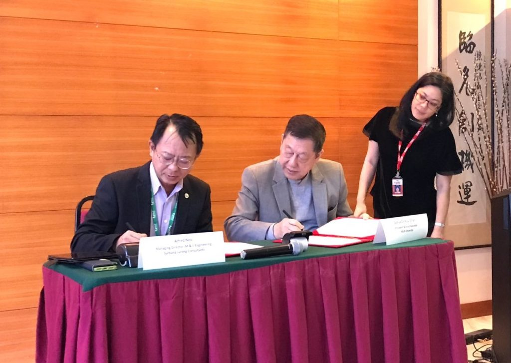 Surbana Jurong MOU with HELP university