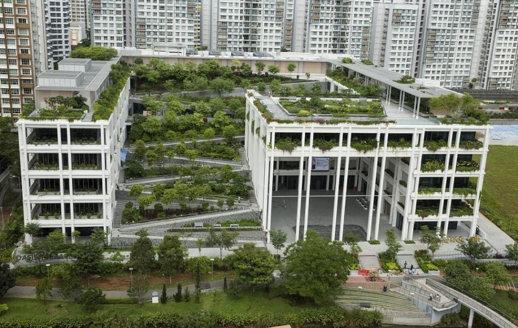 Oasis Terraces HDB Awards Surbana Jurong building design