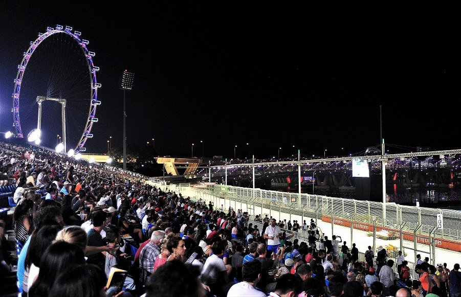 Singapore Grand Prix Formula 1 Night Race