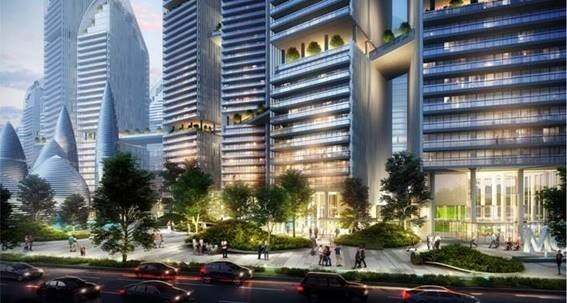 Ultra Luxury Residential Development at Dhaka Bangladesh concept and detail design services
