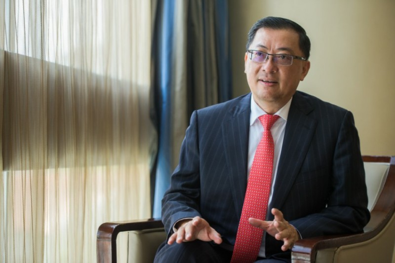 Surbana Jurong Group CEO Wong Heang Fine