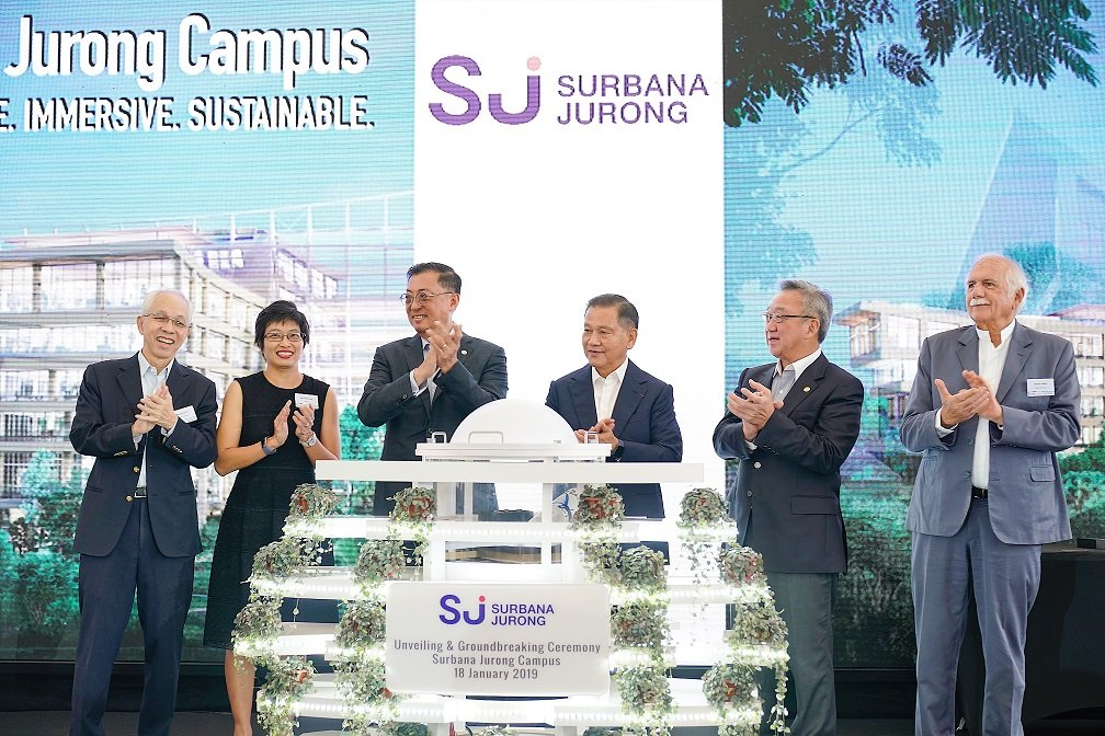 Surbana Jurong Campus Groundbreaking Event