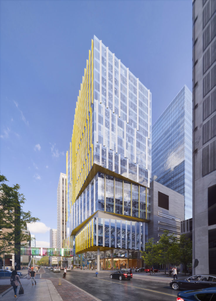 Patient Support Centre SickKids B+H Architects SJ