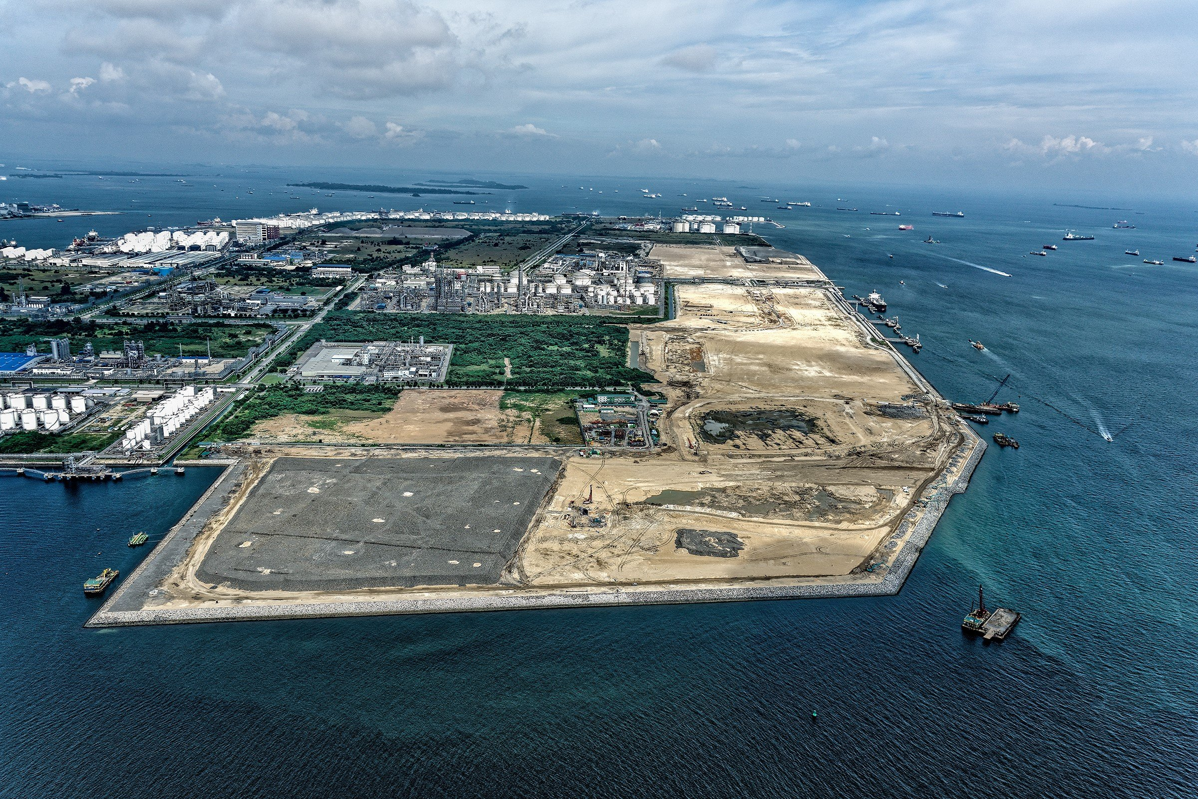 Jurong Island Westward Extension Reclamation