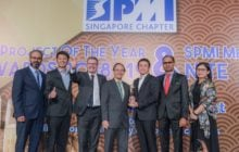 Surbana Jurong's Jurong Island reclamation project wins Project of the Year award