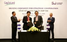 CapitaLand Vietnam and Surbana Jurong to collaborate on sustainable and smart city solutions in Vietnam