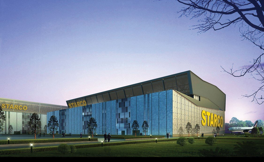 Shanghai Pudong International Airport Starco Maintenance Hanger